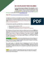 Instrucciones de Afiliacion Tiens Colombia