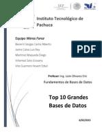 Top10 Grandes Bases de Datos