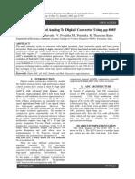 A 12-Bit High Speed Analog To Digital Convertor Using μp 8085