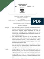 Lembaran Daerah Kota Bandung Tahun