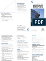 Checklist Aluminium Phosphide Tablets and Chloropicrin on Farms