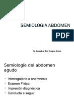 semiologia digestiva