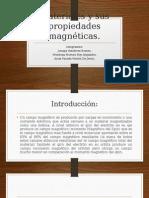 Materiales y Sus Propiedades Magnéticas