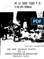 Apuntes Sobre La Tribu Yaqui Huarte e