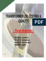 DGA Furan Analysis