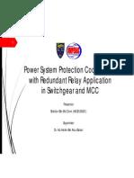 Protection Coordination Analysis