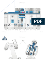 R2 D2 Papercraft Star Wars Star Tours Printable 0213