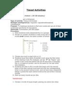 timed activities handout-2