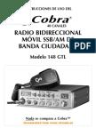 Manual Cobra 148GTL ESP