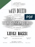 Bassi - Gran Duetto Sonnambula