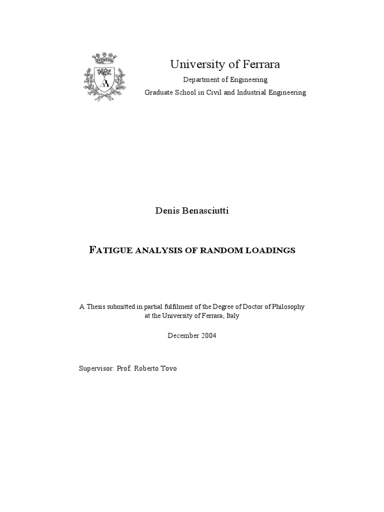 Phd thesis 2005
