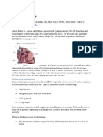 Atrial Flutter Emedicine