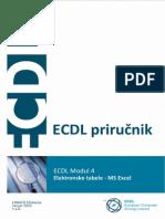 ECDL Modul 4 - Proračunske tablice