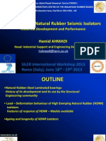 21_Ahmadi_HDNR Seismic Isolators Performance and Historical Development