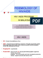 Epidemiologi of Hiv.aids Global, m'Sia & Phg.