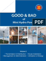 Good and Bad of Mini Hydro Power Vol.2