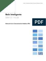 WEG Srw01 Manual de La Comunicacion Modbus Rtu 10000521680 4.0x Manual Espanol