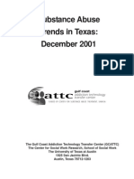 Substance Abuse Trends in Texas, December 2001