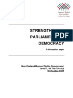Strengthening Parliamentary Democracy Final 17June11