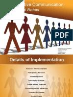 instructional plan implentation