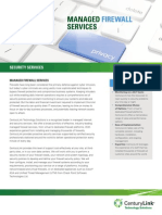 Managed Firewall Services Security Tearsheet