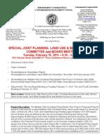 ECWANDC Joint PLUB Committee Board Agenda - February 10, 2015