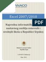 Excel 2007/2010 - Obuka nastavnika