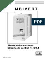 Keb Manual en Castellano de La Serie f4c de Keb