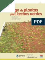 INTA - Catalogo de Plantas Para Techos Verdes