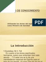 Palabras de Conocimiento (Words of Knowledge) (1)