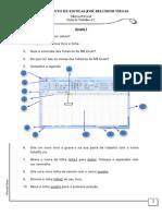 Fichas de Trabalho 01 - Excel