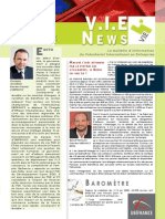 V.I.E News n°4 octobre 2013