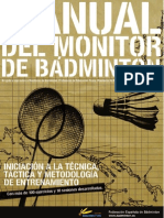 manual del monitor de badminton - fesba