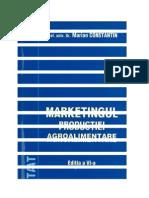 Marketingul Productiei Agroalimentare-Marian Constantin