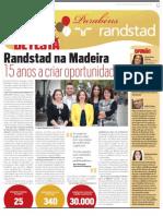 Randstad Madeira comemora 15 anos