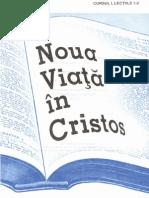 Noua Viata in Hristos, Curs 1, book 1/6