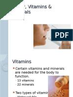 Water, Vitamins & Minerals.ppt