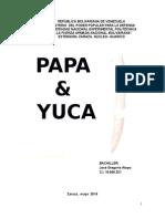 Trabajo de La Papa y La Yuca