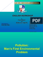 Pollution n Types