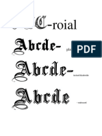 Stil Scriere design