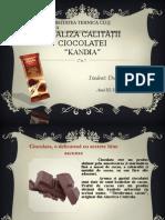 Analiza Calității Ciocolatei Kandia