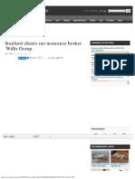 Allen Stanford Ponzi Clients Sue Insurance Broker Willis Group _ Reuters