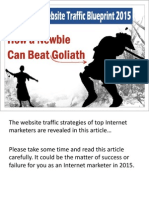 Website Traffic Blueprint 2015