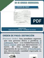 Ordenes de Pago