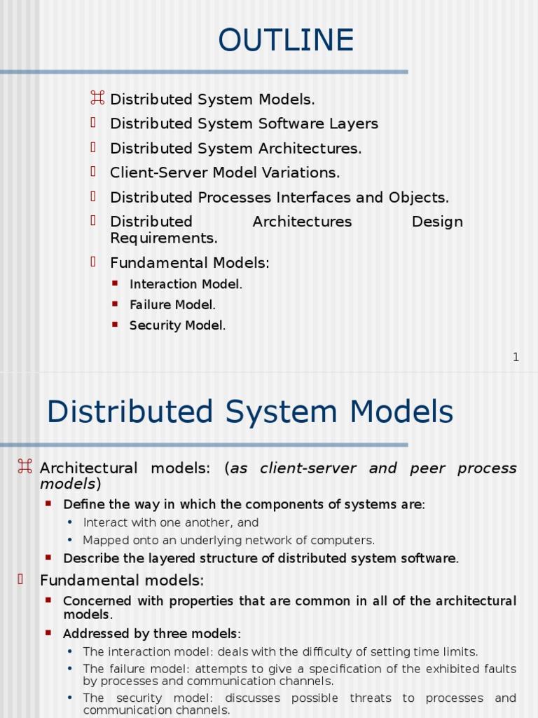 W Chapter 2 Client Server Model Peer To Peer