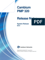 PMP 320 Release Notes e2.3