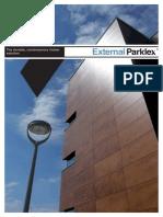 Parklex 17490 Parklex Panouri Din Lemn Pentru Placari Exterioare
