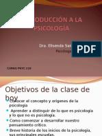 Curso PSYC 123-Introdccion
