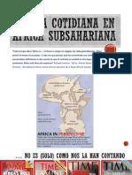 5. Curso África 2014. Sesión 5. La vida cotidiana en África subsahariana.
