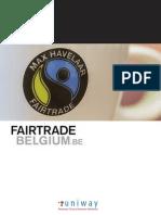 Case study Fairtrade Belgium by Uniway